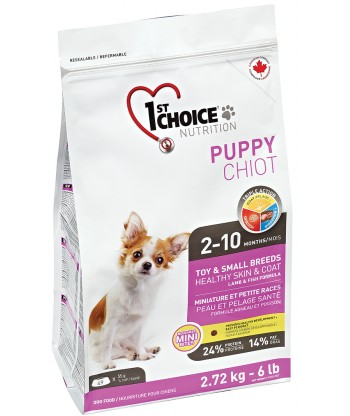 1st Choice Puppy - Healthy Skin & Coat - Toy & Small Breeds