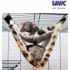 Savic Relax De Luxe Tube Fake Fur rippkiik puuri rotile, tuhkrule (Savic)