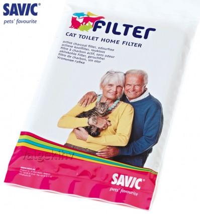 ACTIVE CHARCOAL filter kinnistele kassitualettidele (Savic)