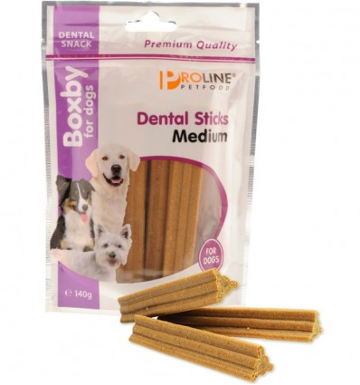 Naturaalne maius hambahoolduseks koerale Boxby Dental Sticks Medium