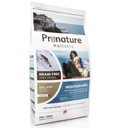 Pronature Holistic MEDITERRANÉA - teraviljavaba kuivtoit koertele, menhedeni kala ja lõhega