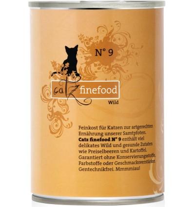 Classic N°9 ULUKILIHAGA (70%), teraviljavaba konserv kassidele (Catz Finefood)