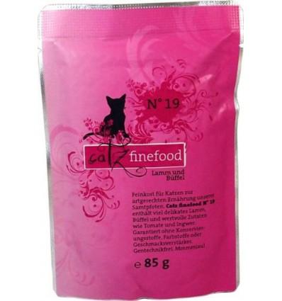 Classic N°19 LAMBA- ja PÜHVLILIHAGA (70%), teraviljavaba kassieine kotike (Catz Finefood)