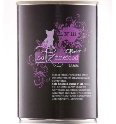 Purrrr N°111 LAMBATALLE LIHAGA (70%), teraviljavaba kassikonserv (Catz Finefood)