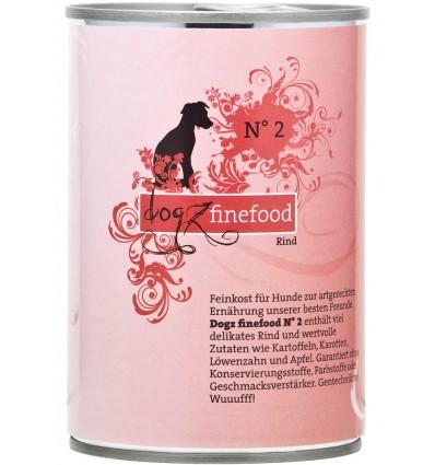 Classic N° 2 VEISELIHAGA (65%), teraviljavaba konservtoit koerale (Dogz Finefood)