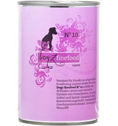 Classic N° 10 LAMBALIHAGA (65%), teraviljavaba konservtoit koerale (Dogz Finefood)
