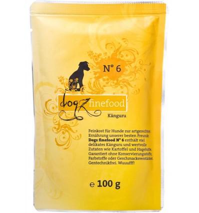 Classic N° 6 KÄNGURULIHAGA (65%), teraviljavaba koeraeine kotike (Dogz Finefood)