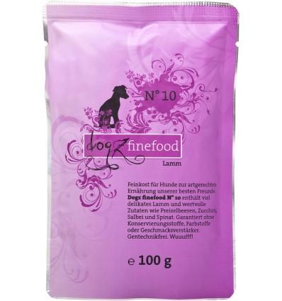 Classic N° 10 LAMBALIHAGA (65%), teraviljavaba koeraeine kotike (Dogz Finefood)