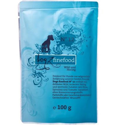 Classic N° 12 ULUKILIHA JA HEERINGAGA (65%), teraviljavaba koeraeine kotike (Dogz Finefood)