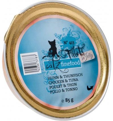 Fillets ŽN°413 KANALIHA JA TUUNIKALA ŽELEES, teraviljavaba kassieine kausike (Catz Finefood)