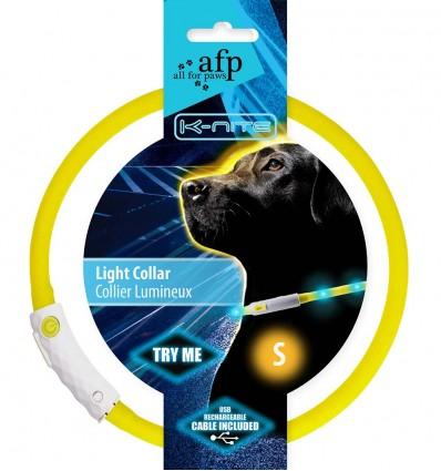 LED-valgustusega kaelarihm koerale (AFP) - S
