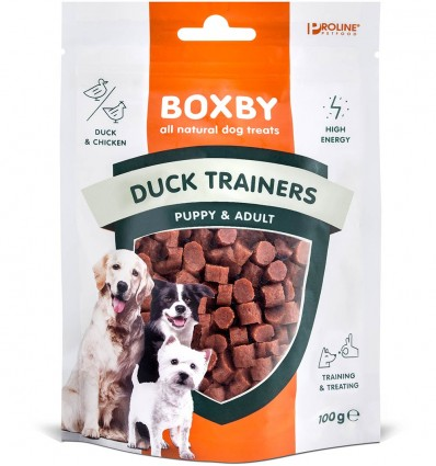 Naturaalne maius koerale Boxby Duck Trainers, pardilihaga