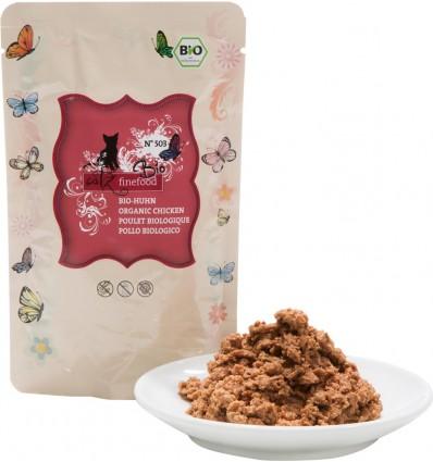 Organic N°503 KANALIHAGA (94%), teraviljavaba kassieine kotike (Catz Finefood)