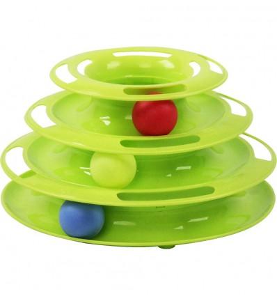 Interaktiivne mänguasi kassile Track Tower (Pawise)