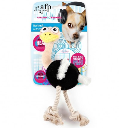 Ultraheliga pehme mänguasi koerale Ostrich (AFP - Ultrasonic)