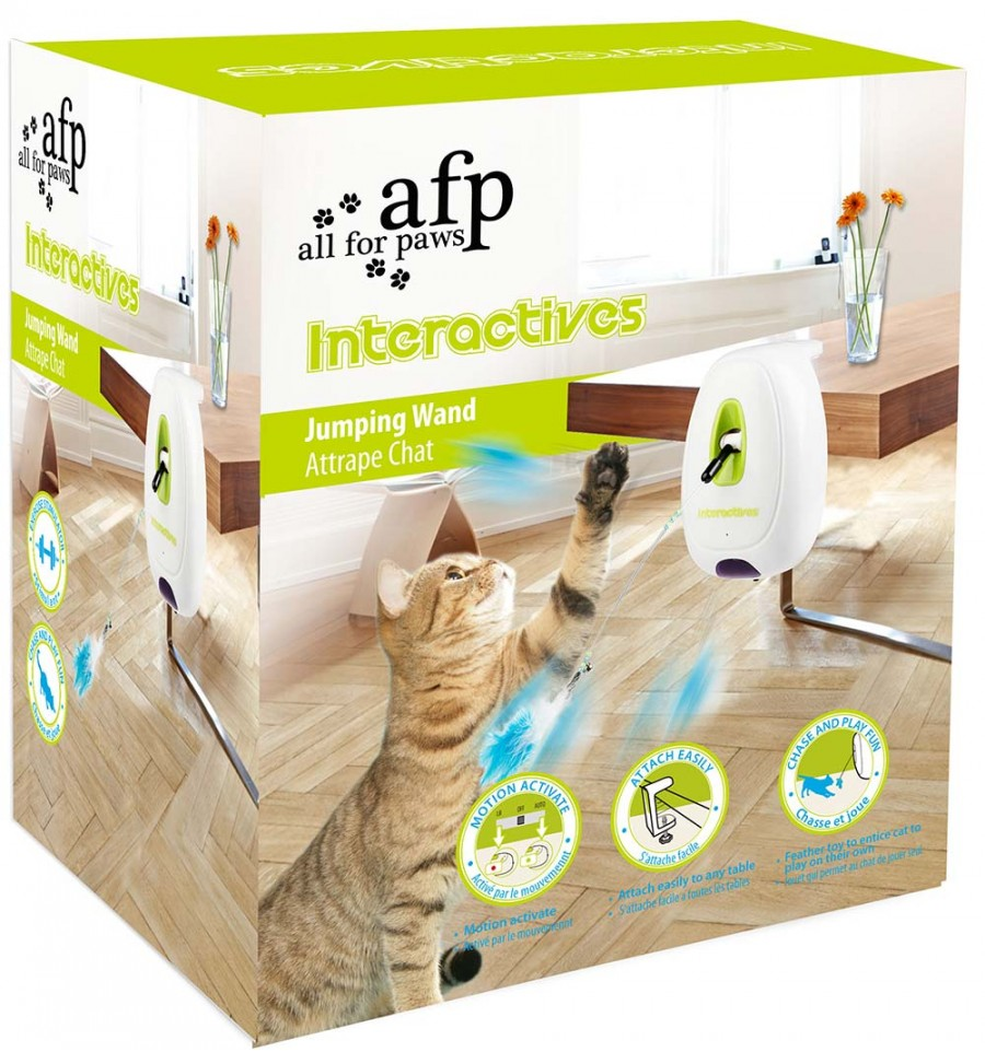 442c29e5b9a Interaktiivne mänguasi kassile Jumping Wand (AFP) ...