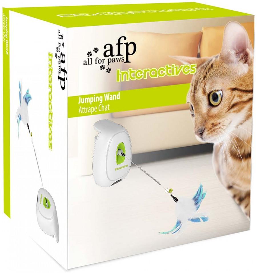 e54f381b9da ... Interaktiivne mänguasi kassile Jumping Wand (AFP) ...
