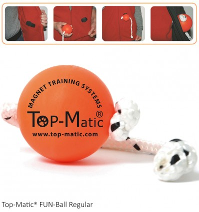 Top-Matic FUN-Ball Regular, magnetpall koera treenimiseks