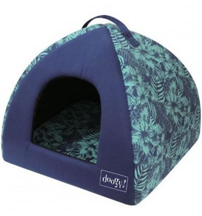 Pesa koerale Tepee Jungle Blue (Doogy)