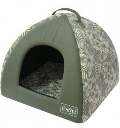 Pesa koerale ja kassile Tepee Jungle Green (Doogy)