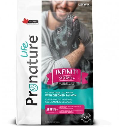 Pronature Life INFINITI kuivtoit koertele, lõhega