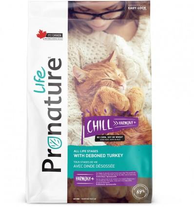 Pronature Life CHILL kuivtoit kassidele, kalkunilihaga