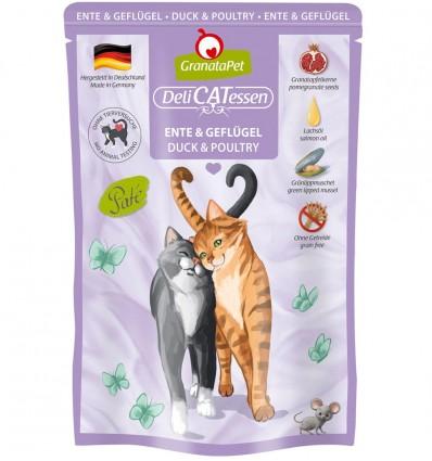 DeliCatEssen kassieine pardi- ja kodulinnulihaga (72%) konservtoit kassidele (teraviljavaba)
