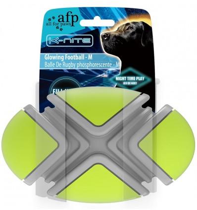 Helendav mänguasi koerale Glowing Football - M (AFP - K-Nite)