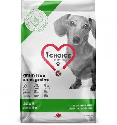 1st Choice Grain Free Toy & Small Breeds - täiskasvanud koerale