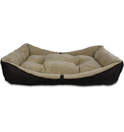 Pesa koerale Bolster Bed pruun (AFP - Lamb)