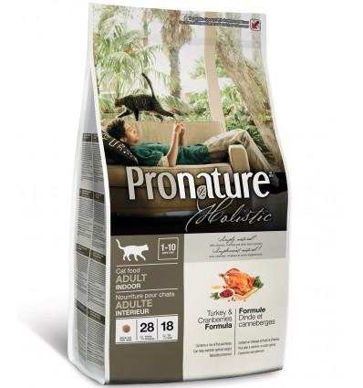 Pronature Holistic kalkuniliha ja jõhvikatega naturaalne täistoit kassidele
