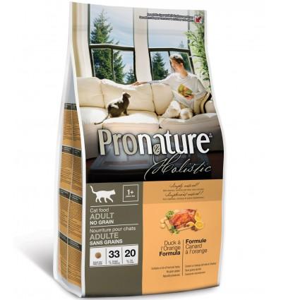 Kassile - Pronature Holistic pardiliha ja apelsiniga teraviljavaba naturaalne täistoit kassidele