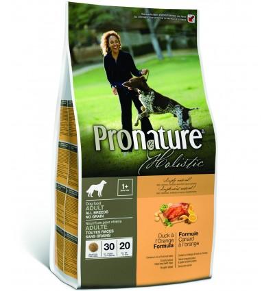 Pronature Holistic pardiliha ja apelsiniga teraviljavaba naturaalne täistoit koertele