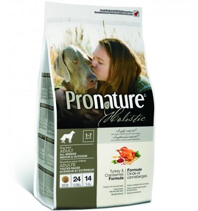 Koerale - Pronature Holistic kalkuniliha ja jõhvikatega naturaalne täistoit koertele