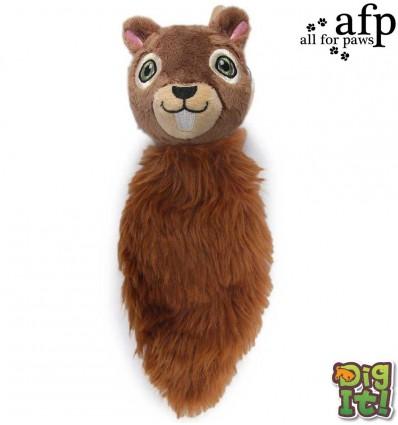 Mänguasi koerale täidiseta Tree Friend Squirrel (AFP - Dig It)