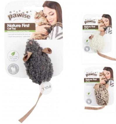 Mänguasi kassile, häälega hiir Nature First - Simple Cat (Pawise)