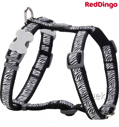 Traksid koerale, disainmustriga Safari Black (Red Dingo)