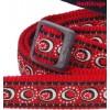 Jalutusrihm koerale, disainmustriga Cosmos Red (Red Dingo)