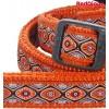 Jalutusrihm koerale, disainmustriga Snake Eyes Orange (Red Dingo)