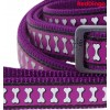 Jalutusrihm koerale, helkurmustriga Reflective Bones Purple (Red Dingo)