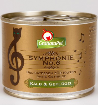 Symphonie No. 6 TERAVILJAVABA delikatesskonserv kassidele VASIKA- JA KODULINNULIHAGA NATURAALSES ŽELEES