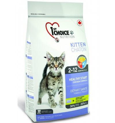 1st Choice Kitten Healthy Start - kassile