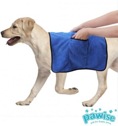 Rätik koera kuivatamiseks, taskutega (Pawise)